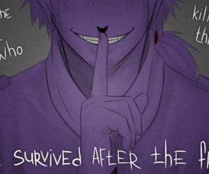 vincent, fnaf, and purpleguy image