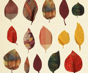 autumn, leaves, and art image
