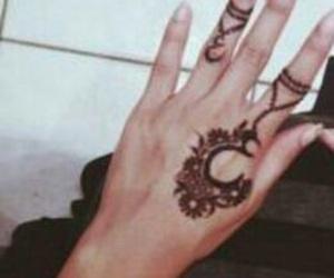 arabic, 7ena, and henna image