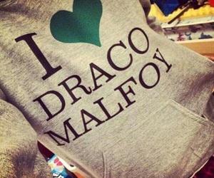 draco malfoy, harry potter, and malfoy image