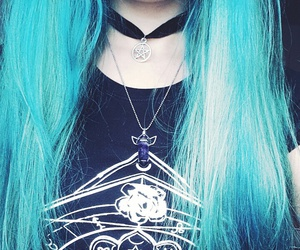 bluehair, details, and fashion image
