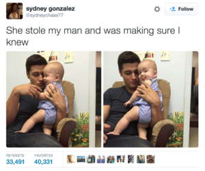 funny, cute, and baby image