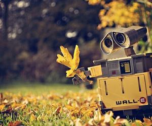 wall-e, autumn, and robot image