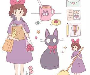 kiki, anime, and cat image