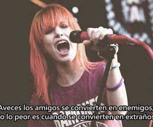 frases, amigos, and paramore image