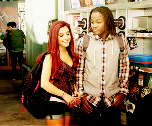 andré harris, ariana grande, and cat valentine image
