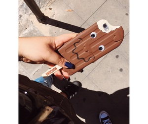 case, nails, and summer image