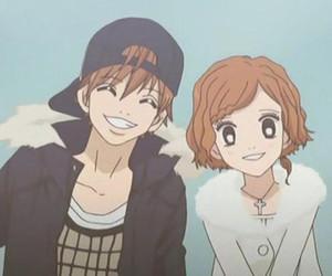 anime, couple, and yano image