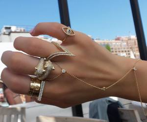 bracelet, luxury, and cartier love ring image