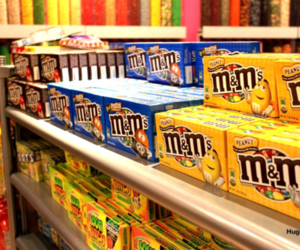 candy, food, and m&m image