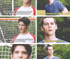 teen wolf, sciles, and tyler posey image