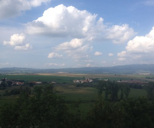 clowds, sky, and view image
