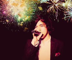 Harry Styles, one direction, and singing image