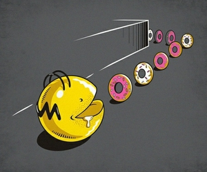 homer and donuts image