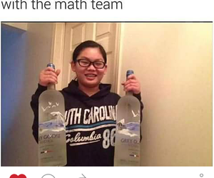 drinking, funny, and ling ling image