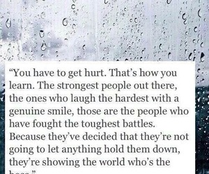 quotes, hurt, and strong image