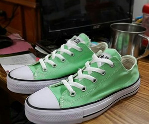 green shoes converse love image