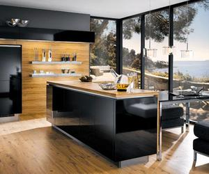 kitchen island designs, kitchen island ideas, and l shaped kitchen layout image