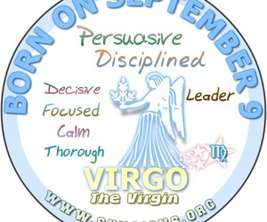 horoscope personality and september 9 birthday image