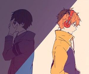 best friends, boys, and hideyoshi nagachika image