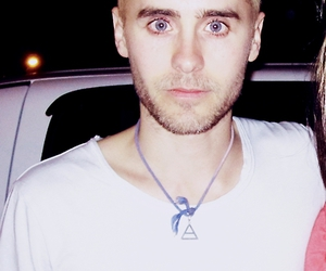 30 seconds to mars, blue eyes, and jared leto image