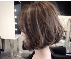 bangs, bob, and hairstyle image