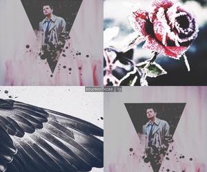 angel, dark, and dean winchester image