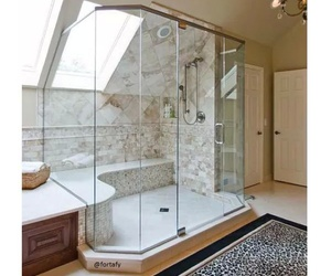 shower, home, and bath image