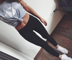 body, style, and fitness image
