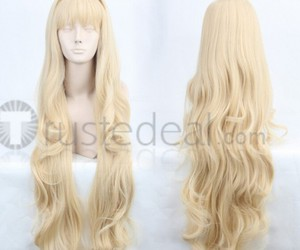 vocaloid cosplay, halloween costume idea, and cheap cosplay wig image