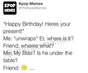 birthday, funny, and kpop image