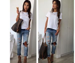 style, cute, and love this gal image