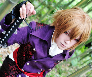 anime, cosplay, and samurai image