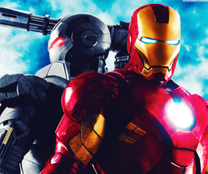 iron man and Marvel image