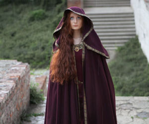 cloak, costume, and dress image
