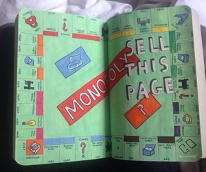 wreck this journal and monopoly image