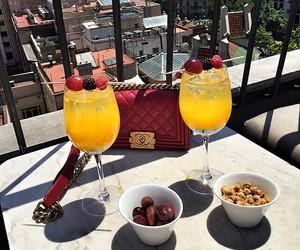 luxury, bag, and food image