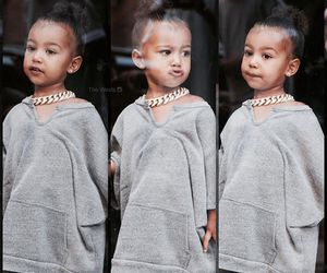 fashion, hairstyle, and north west image