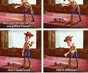 funny, toy story, and disney image