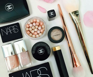 beauty, chanel, and make-up image