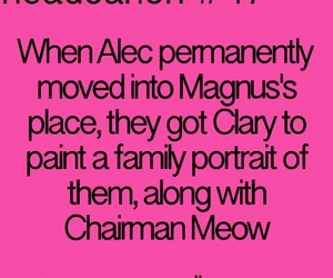 the mortal instruments and headcanon image