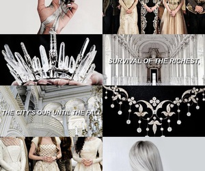 red queen, silvers, and victoria aveyard image