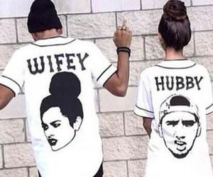 couple, hubby, and wifey image