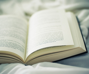 book, light, and white image