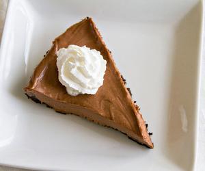 food, chocolate, and cake image