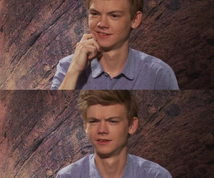 the maze runner, thomas brodie sangster, and newt image