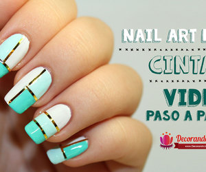 nail art, uñas decoradas, and nails image