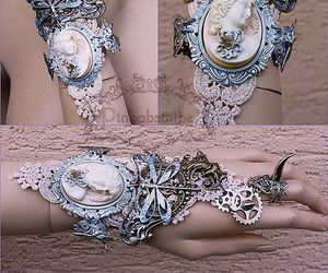 bracelet and steampunk image