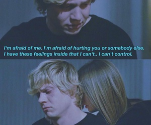 tate, ahs, and couple image