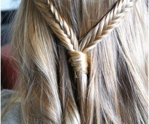 black, blond, and braid image